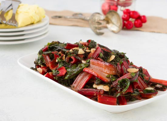Recipe: Collards With Herb Butter