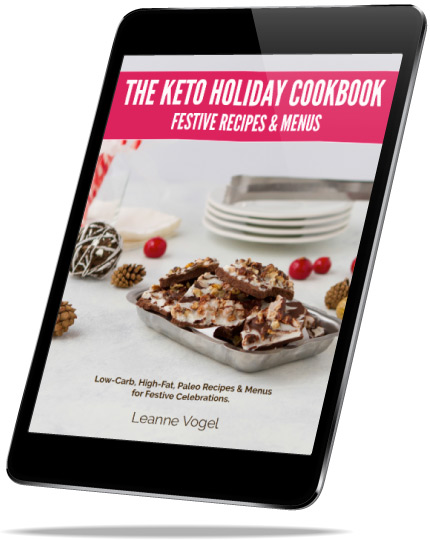 Keto Christmas Cookbook - iPad Preview